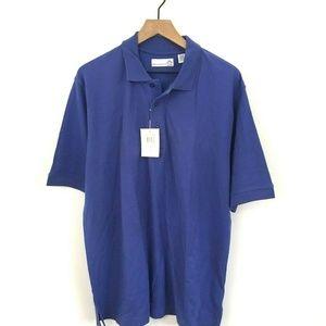 NWT! Munsingwear Penguin Blue Polo Shirt Large